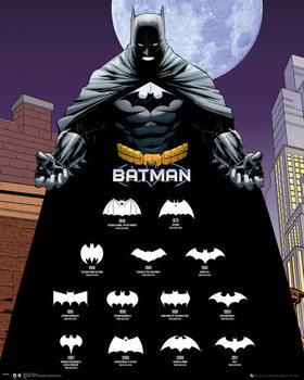 Juliste Batman - Logos