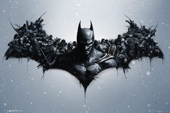 Juliste Batman Origins - Arkham Bats