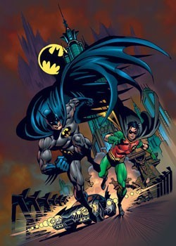 Juliste Batman & robin