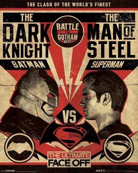 Juliste Batman V Superman - Fight Poster