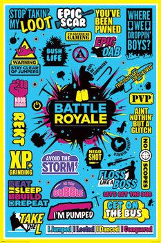 Juliste Battle Royale - Infographic