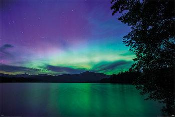 Juliste BBC Earth - Northern Lights