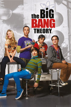 Juliste Big Bang Theory - Hahmot
