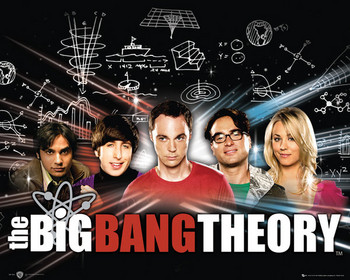 Juliste BIG BANG THEORY