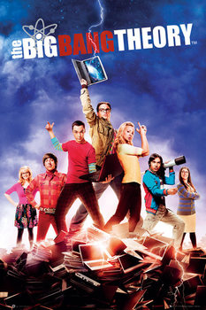 Juliste BIG BANG THEORY - season 5