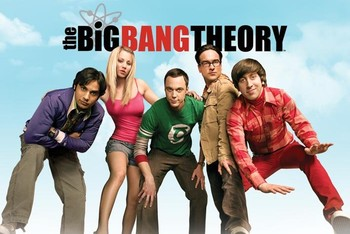 Juliste BIG BANG THEORY - sky