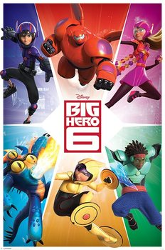 Juliste Big Hero 6 - Team