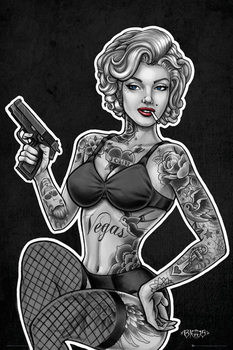 Juliste Biggs - Inked and Armed