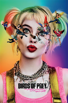 Juliste Birds of Prey: And the Fantabulous Emancipation of One Harley Quinn - Seeing Stars