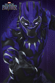 Juliste  Black Panther - Glow