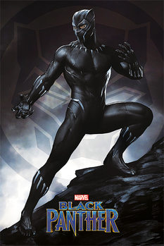 Juliste  Black Panther - Stance