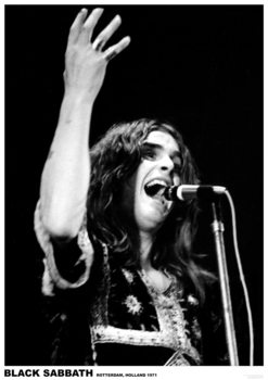 Juliste  Black Sabbath (Ozzy Osbourne) - Rotterdam, Holland 1971