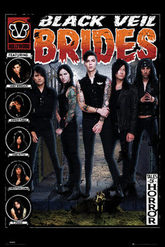 Juliste Black Veil Brides - Tales of Horror