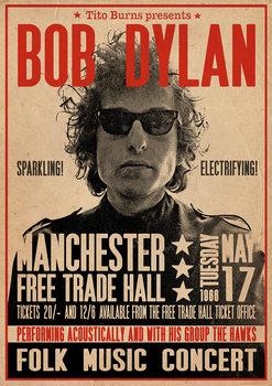 Juliste Bob Dylan - Poster