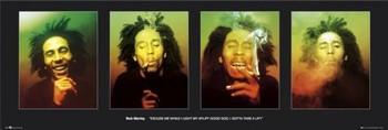 Juliste Bob Marley - faces