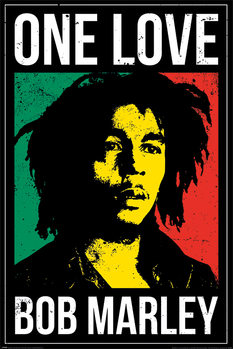Juliste  Bob Marley - One Love
