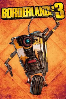 Juliste  Borderlands 3 - Claptrap