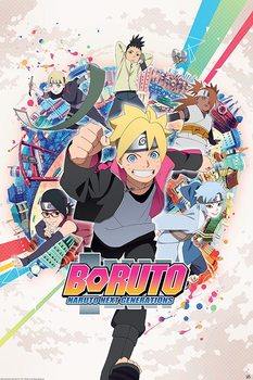 Juliste Boruto - Groupe