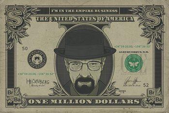 Juliste Breaking Bad - Heisenberg Dollar