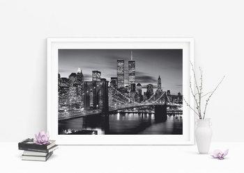 Juliste Brooklyn bridge (B&W)