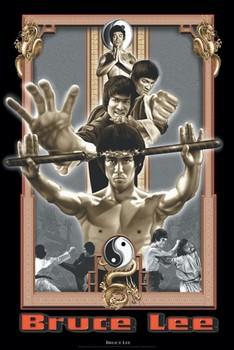 Juliste Bruce Lee - dragon's fury