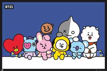Juliste  BT21 - Group
