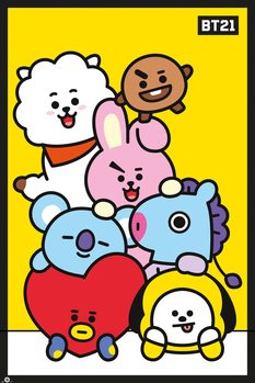 Juliste  BT21 - Pileup