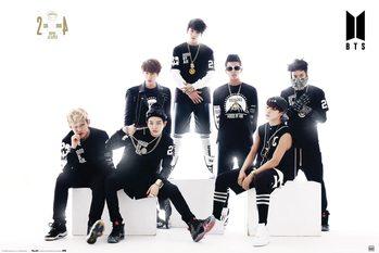 Juliste BTS - Black And White
