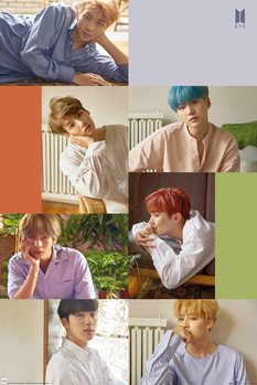 Juliste BTS - Group Collage