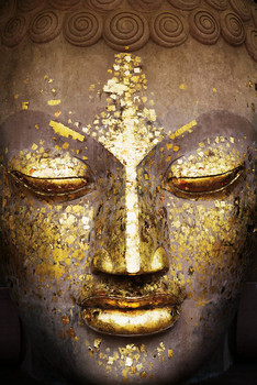 Juliste  Buddha - face