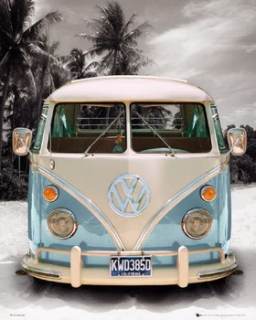 Juliste Californian Camper