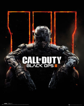 Juliste Call Of Duty: Black Ops 3 - cover