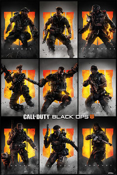 Juliste  Call Of Duty – Black Ops 4 - Characters