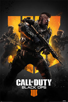 Juliste  Call of Duty: Black Ops 4 - Trio