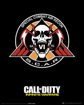 Juliste Call Of Duty: Infinite Warfare - Scar