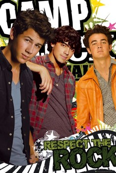 Juliste Camp Rock 2 - respect