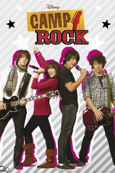 Juliste CAMP ROCK - Group
