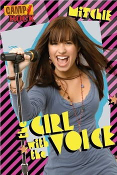 Juliste CAMP ROCK - mitchie