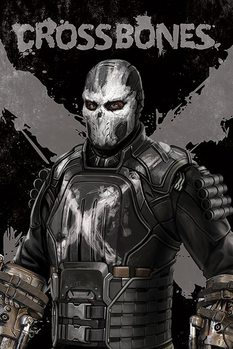 Juliste Captain America: Civil War - Crossbones