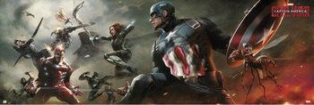 Juliste  Captain America - Civil War