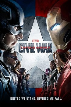 Juliste Captain America: Civil War - One Sheet
