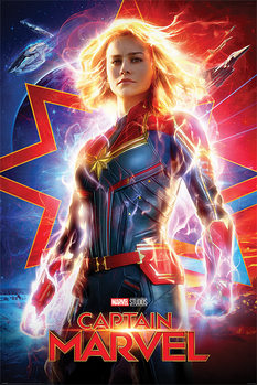 Juliste Captain Marvel - Higher, Further, Faster