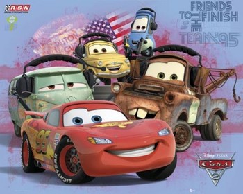 Juliste  CARS 2 - group