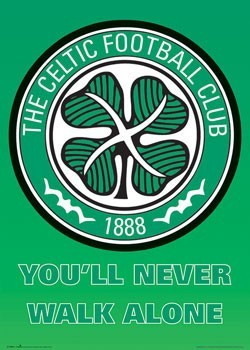Juliste Celtic - club crest