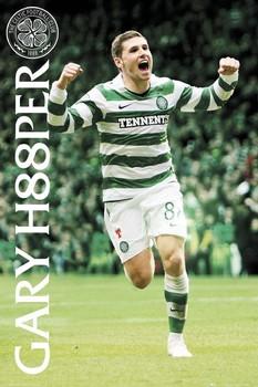 Juliste  Celtic - gary hooper 2010/2011