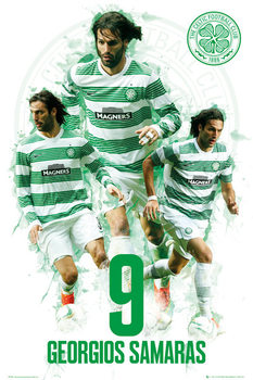 Juliste  Celtic - Georgios Samaras