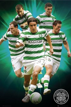Juliste Celtic - players 2010/2011