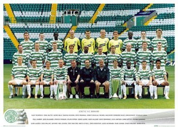 Juliste Celtic - Team 04/05