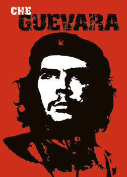 Juliste Che Guevara - red