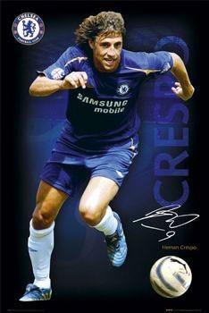 Juliste Chelsea - Crespo 05/06
